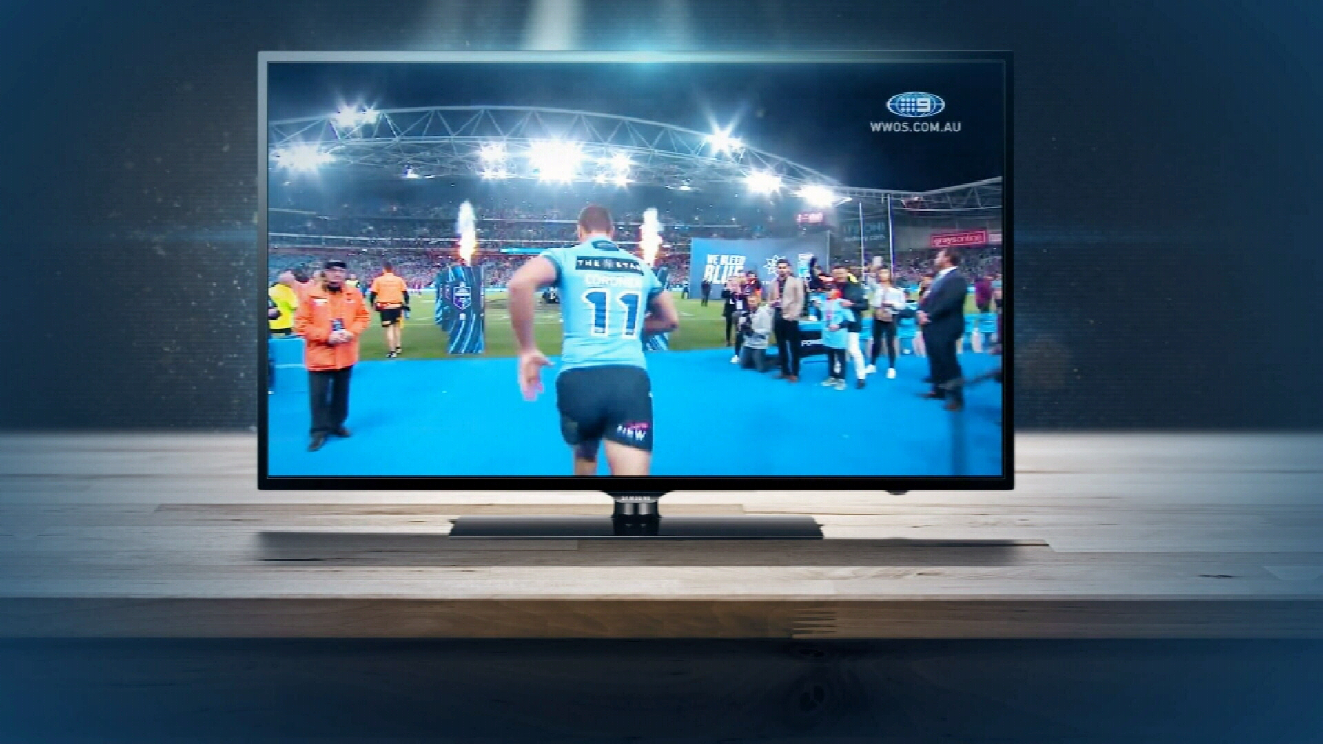 New TV technology takes sports fans from couch to stadium