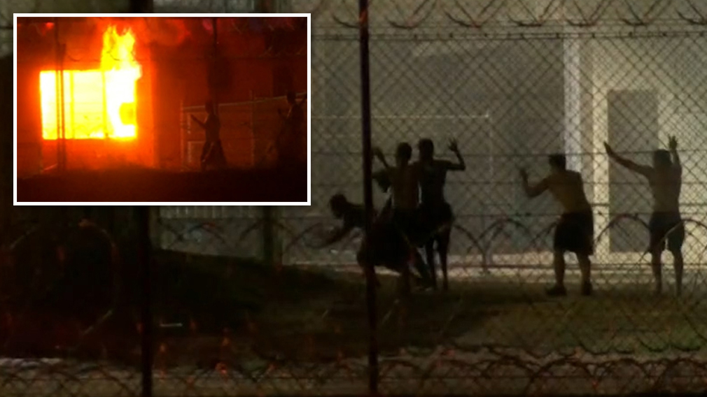 Inmates told to surrender after fire engulfs youth detention centre