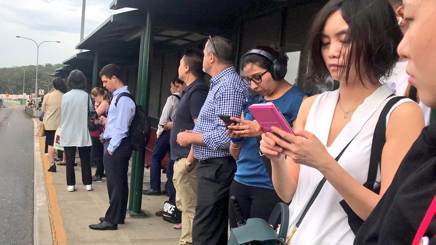Sydney Hills area commuters left stranded after bus delays