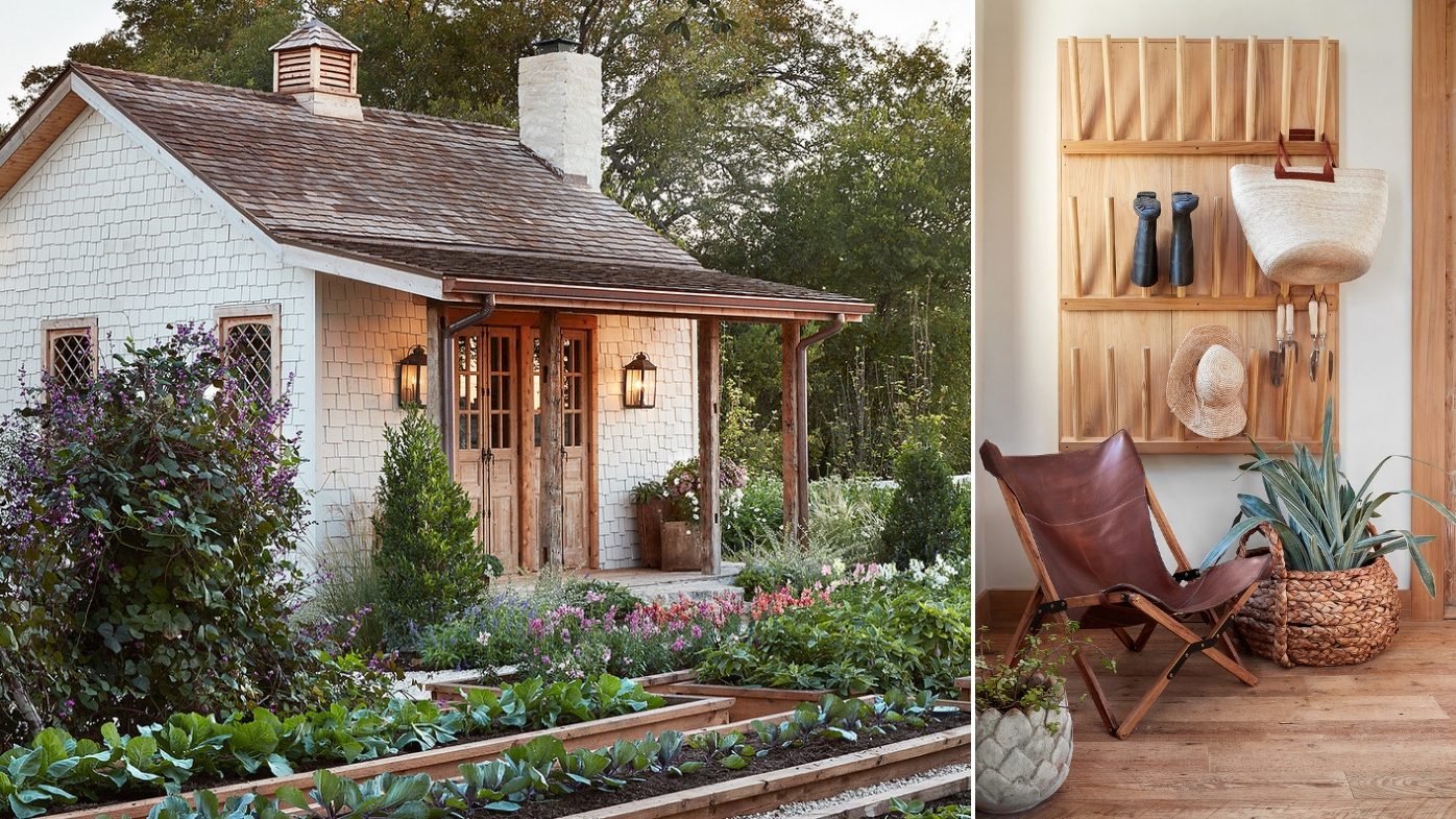 Tour Fixer Upper Joanna Gaines' Dreamy Farmhouse Garden