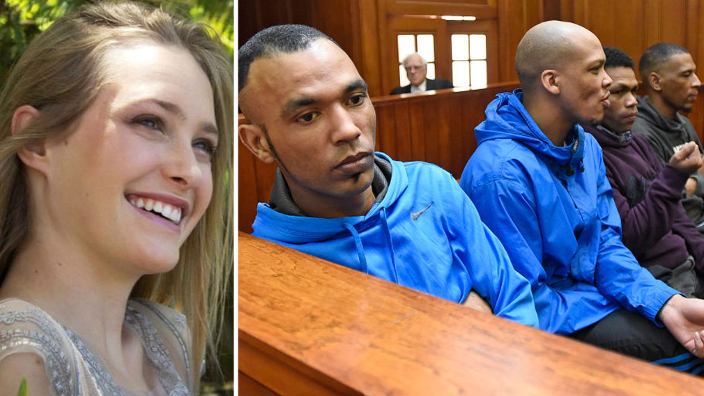 Four men found guilty of horrific rape and murder of South African student