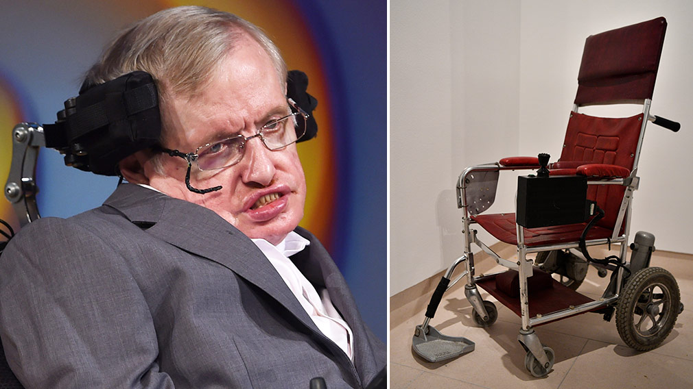 Stephen Hawking's wheelchair sells for $539,949 at auction