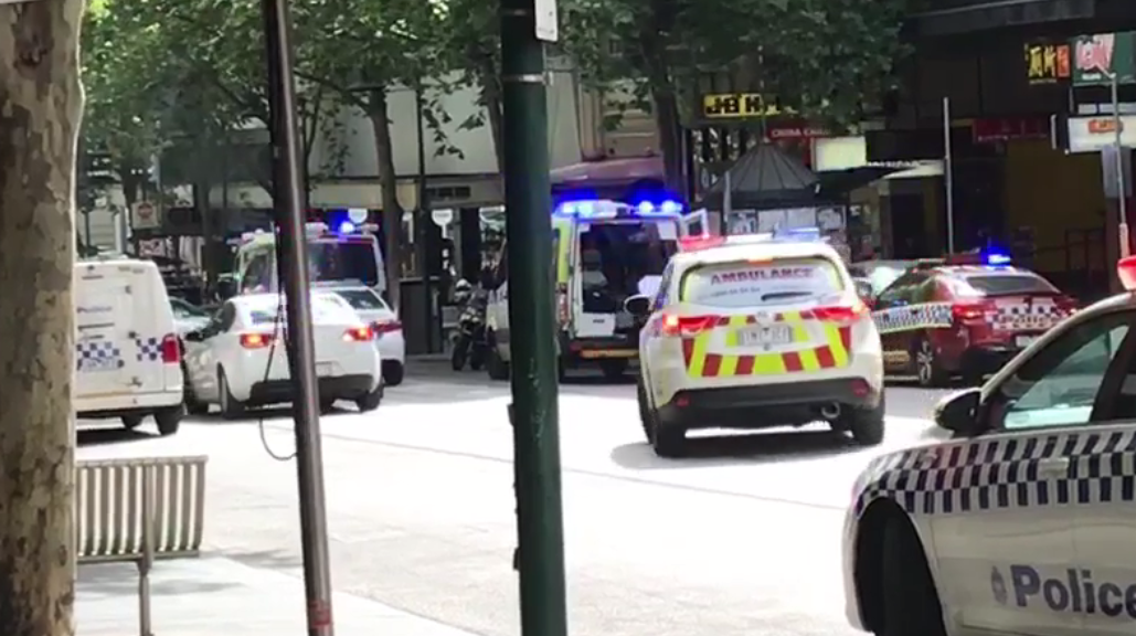 Police urge public to avoid Bourke Street
