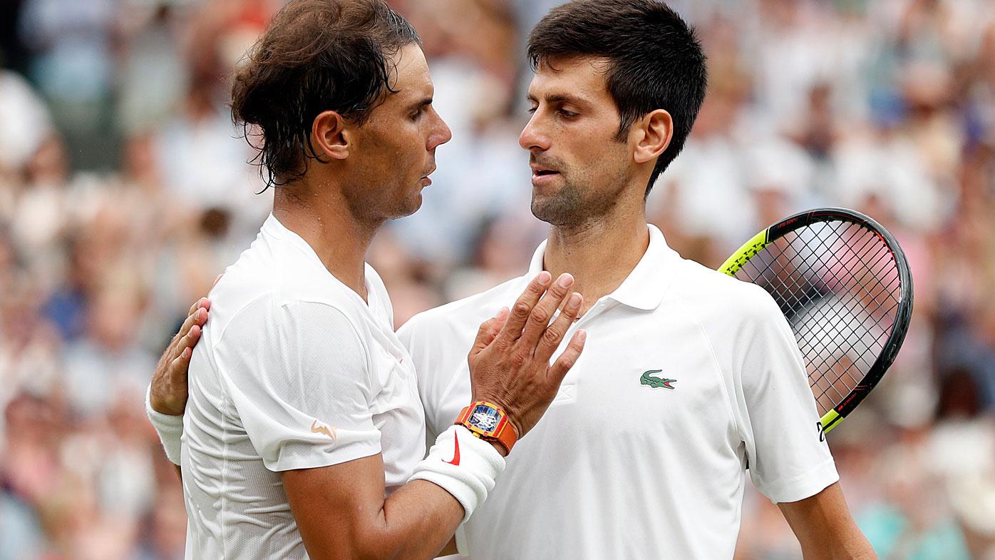 tennis  novak djokovic and rafael nadal call off saudi