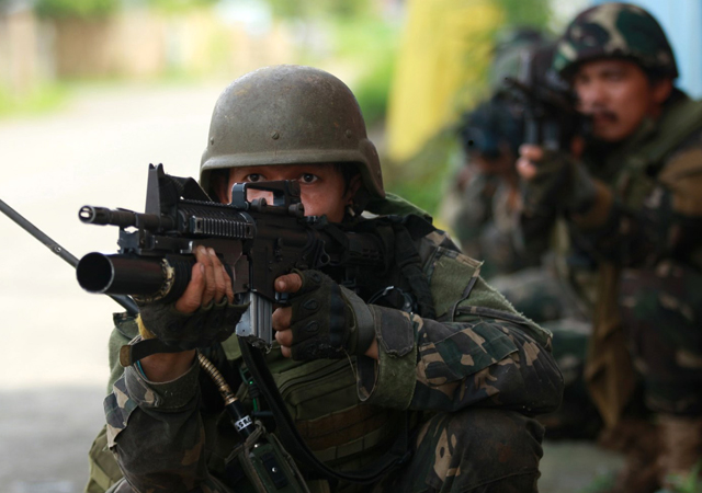 ADF special forces use lessons from Mosul to fight rise of Islamic State in Philippines