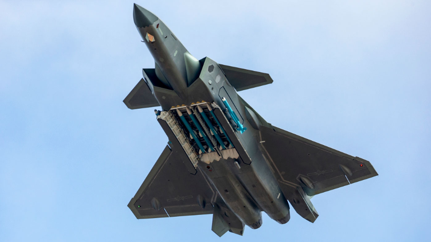 China's mighty show of air power