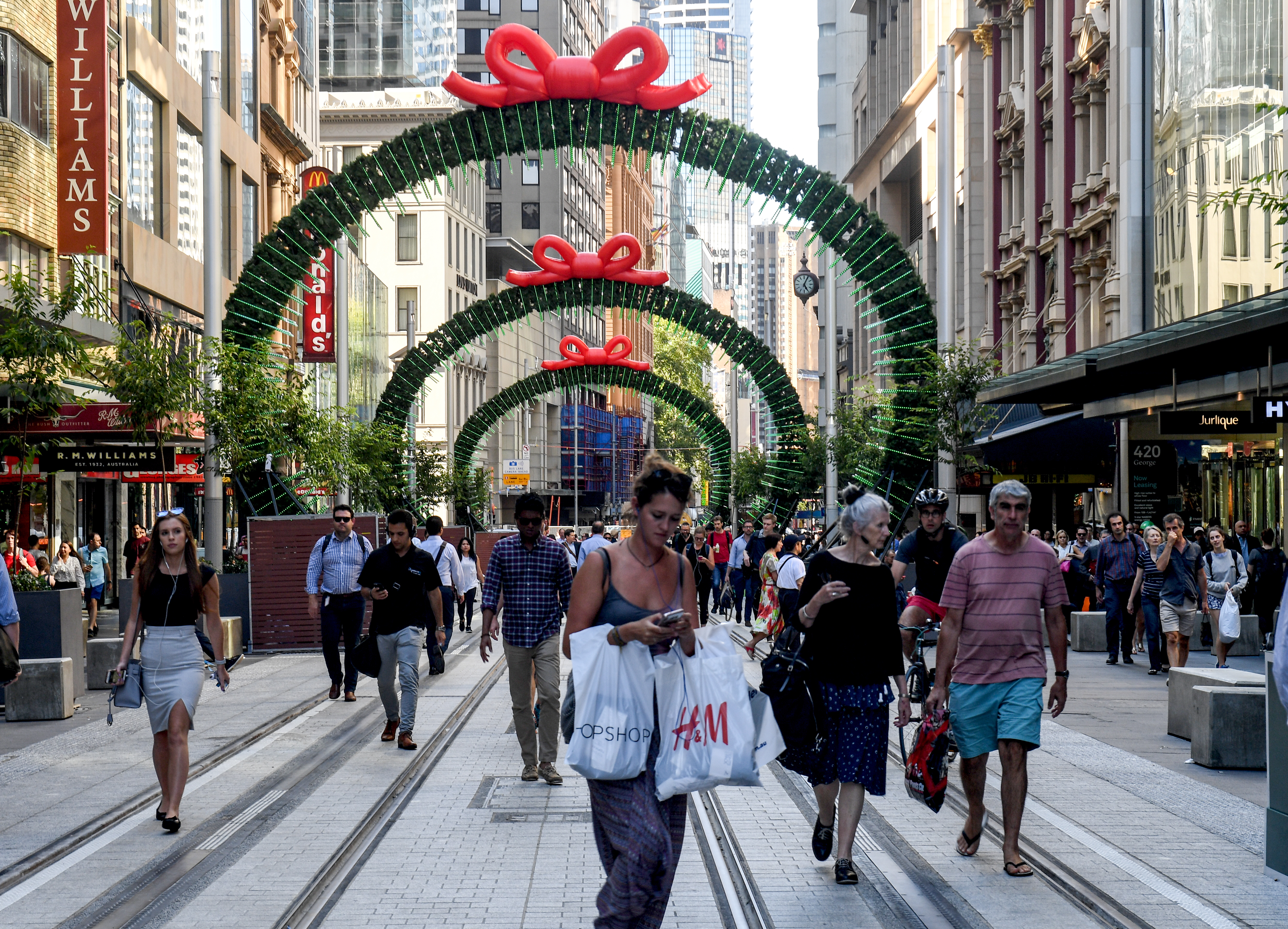 Retailers expect consumers to spend even more than last year on their Christmas shopping.
