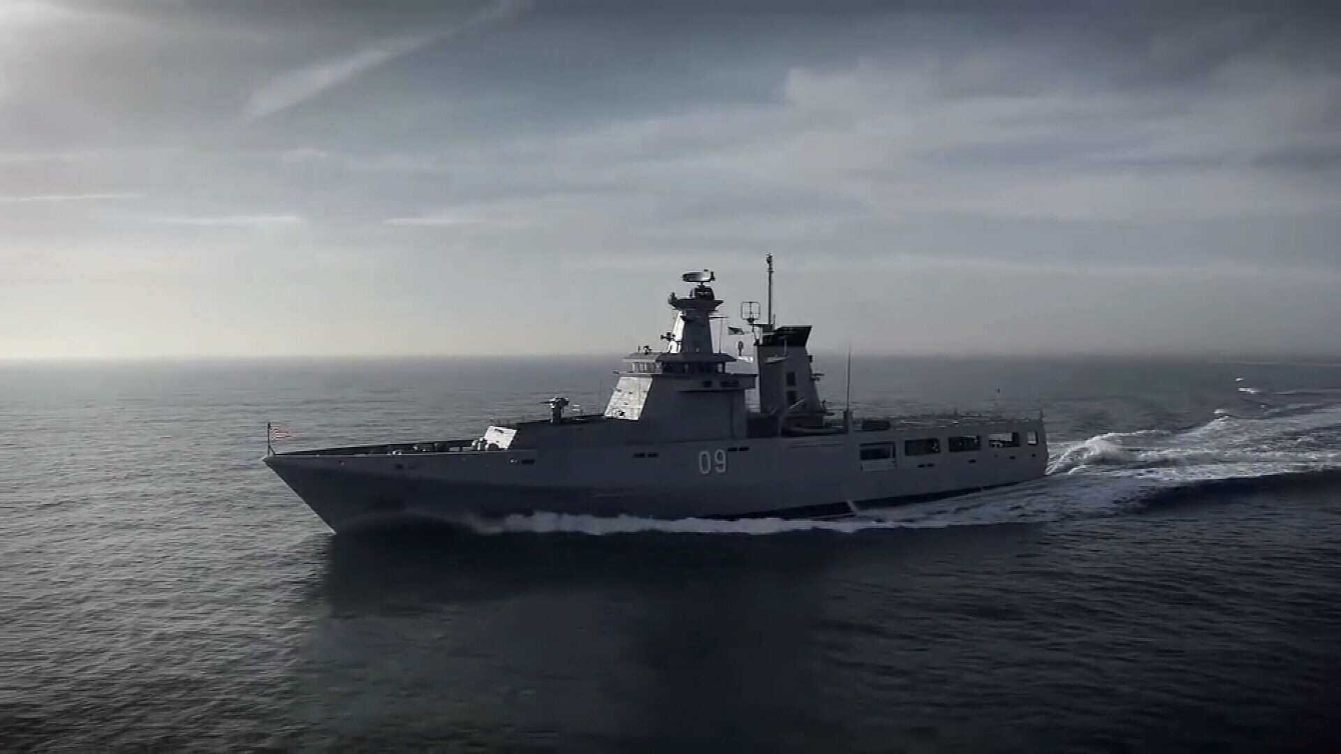 Offshore patrol vessel construction begins in South Australia