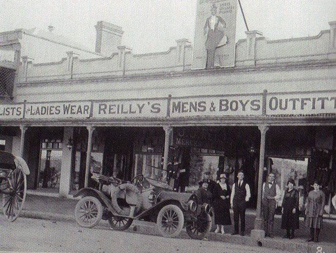 Reilly's Menswear has been in business for more than a century.