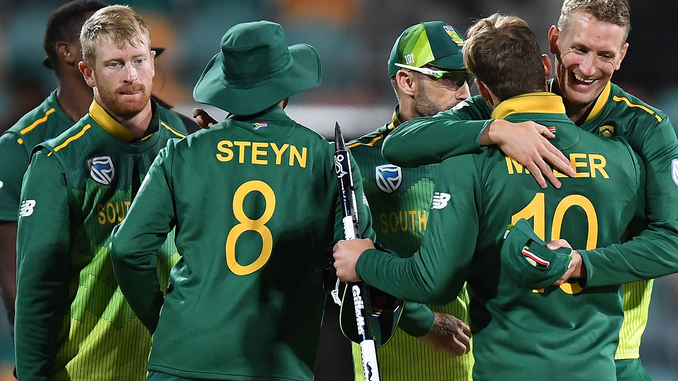 Despite a tightly-fought series South Africa ran out 2-1 winners in the three-match one day series