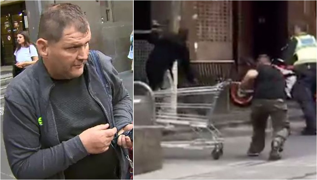 'Trolley Man' behind bars after being charged