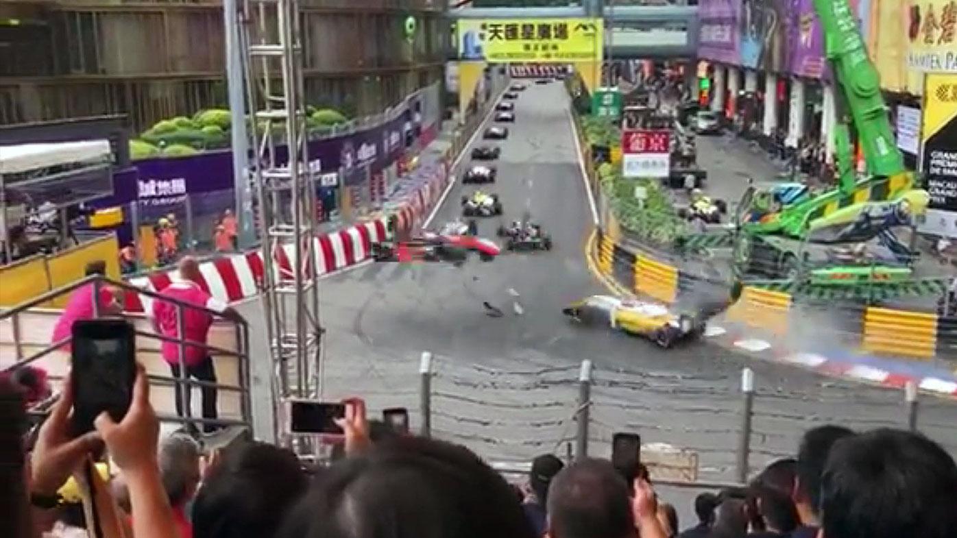 F3 driver Florsch injured in Macau crash