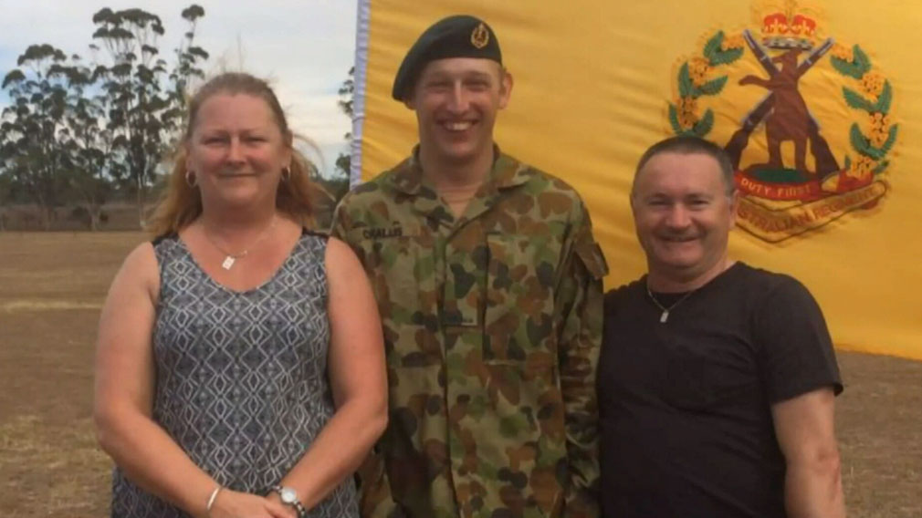 Parents of soldier killed in training don't want him blamed