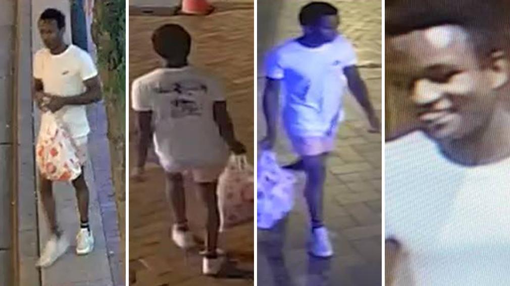 Images released of man linked to violent sex assault