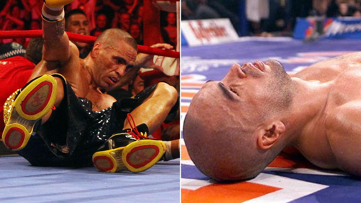 08004c43aa603 Mundine vs Horn: Anthony Mundine's knockout losses video, 'hits like ...