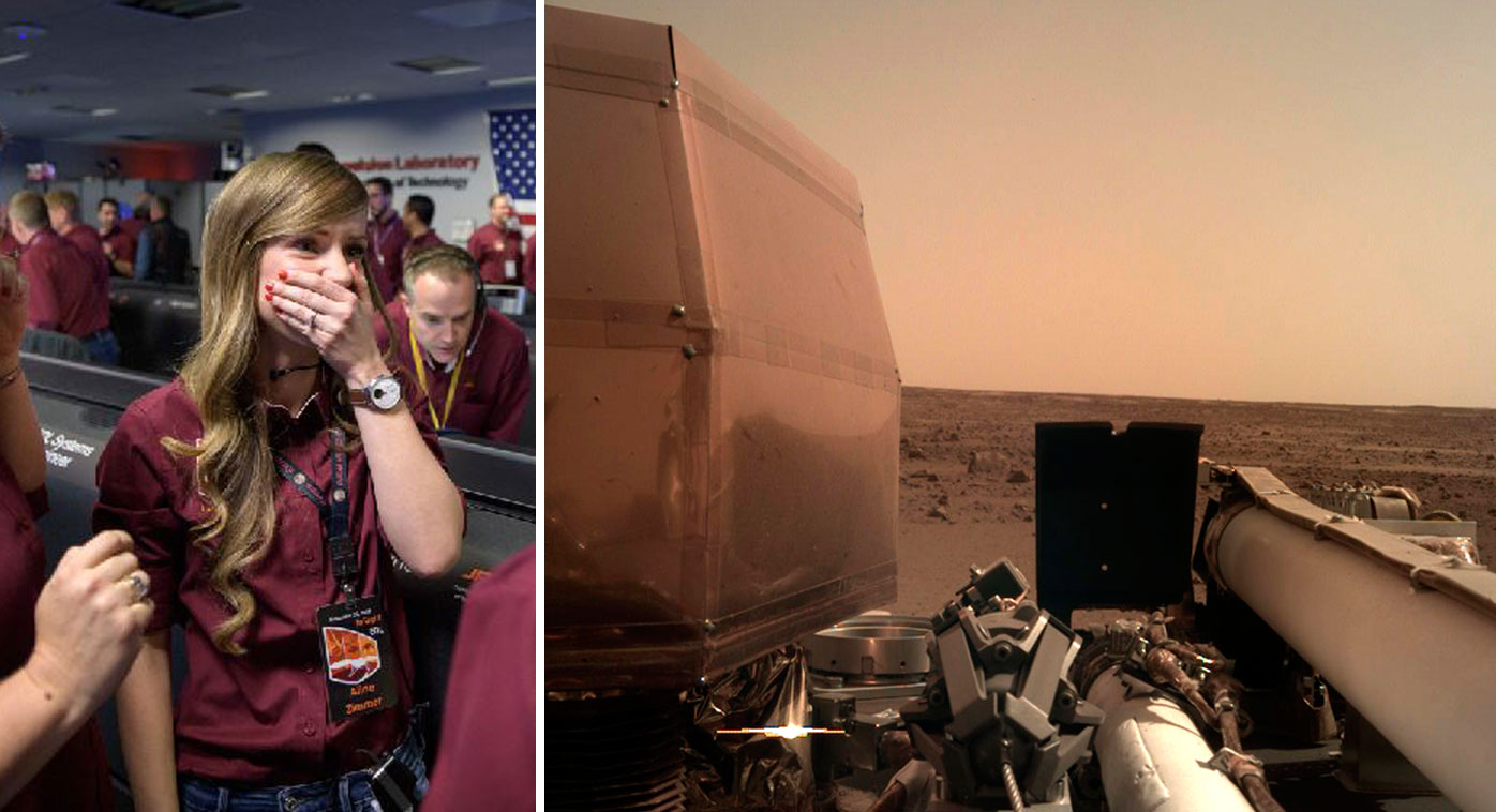mars landing mission control live - photo #39