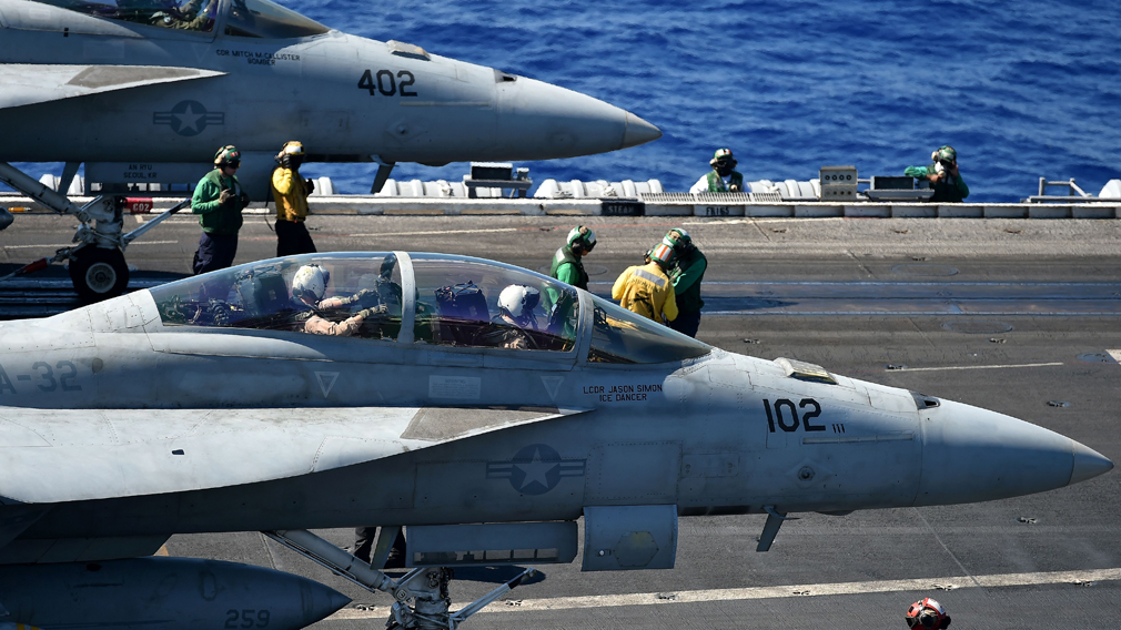 Six marines missing after mid-air warplane crash