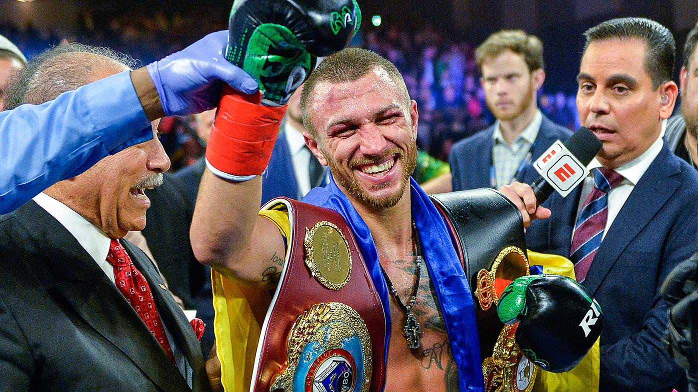 Lomachenko wins by unanimous decision