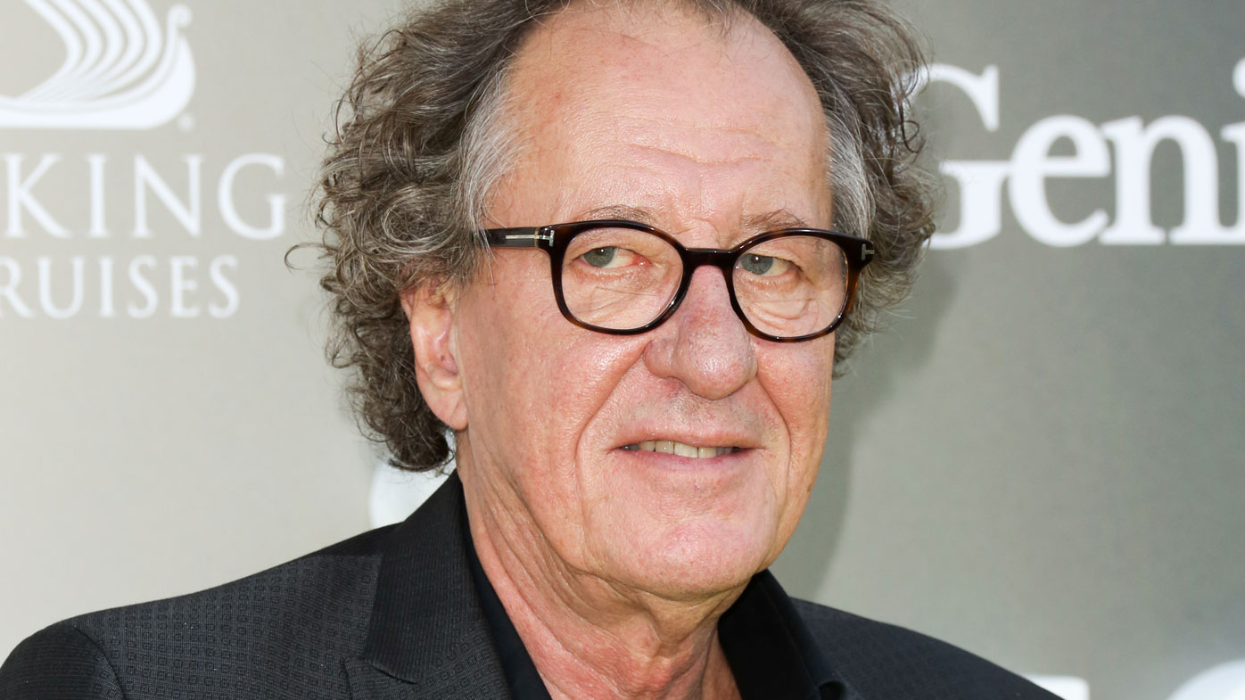 Geoffrey rush head shaved