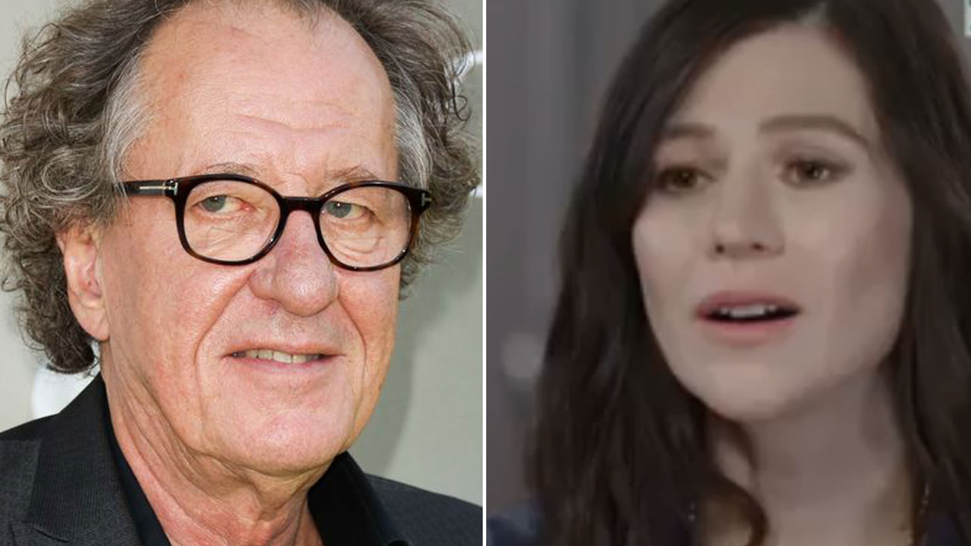 Opinion you Geoffrey rush head shaved opinion, this