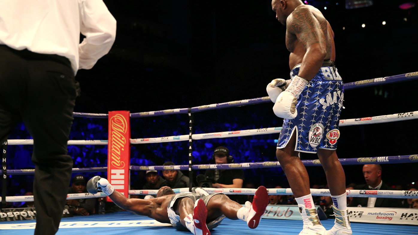 Dillian Whyte finishes Dereck Chisora