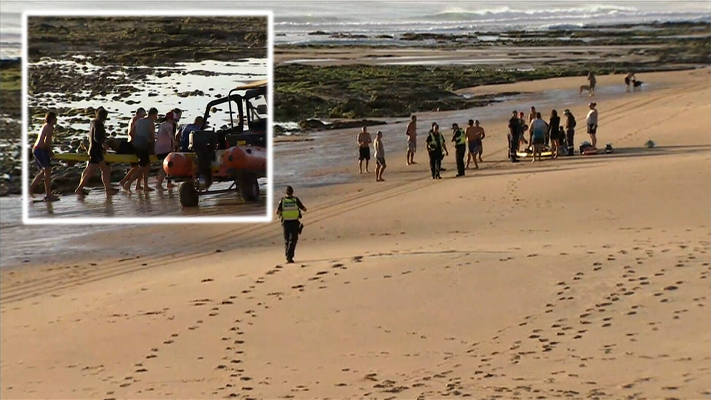 phillip island two men drown at colonnade beach