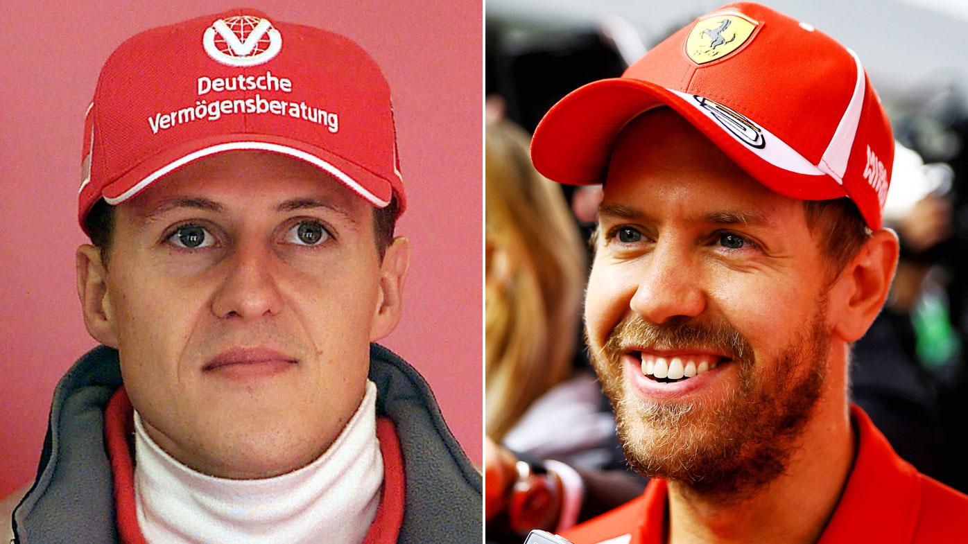 Schumacher Vettel