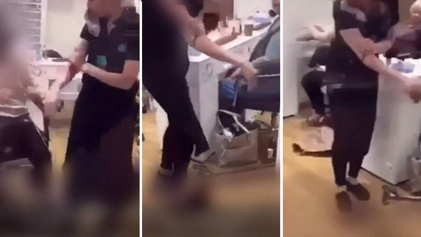 Teen girl 'injured nail salon worker with knife' in mall brawl