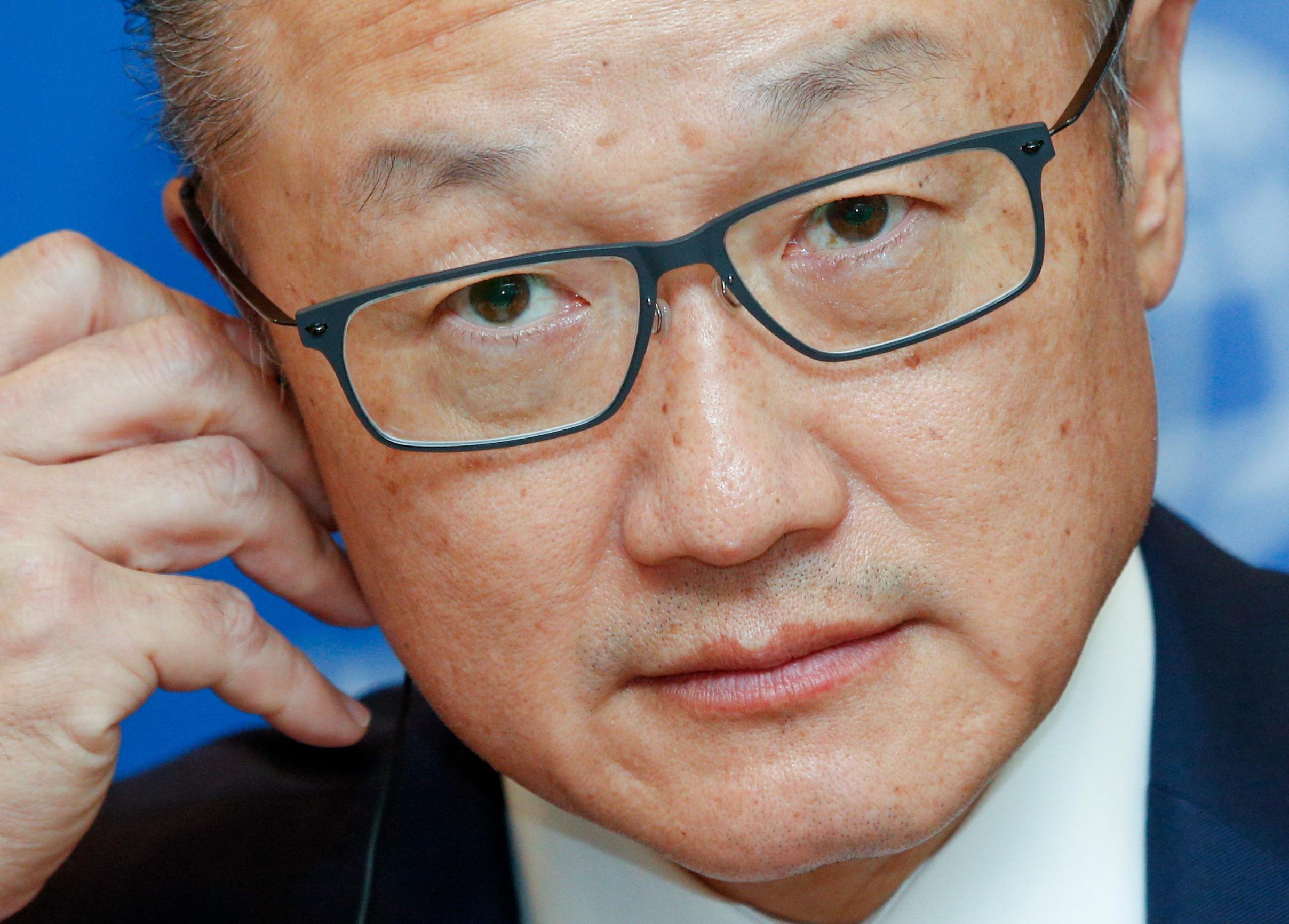 World Bank President Jim Yong Kim has announced his departure.