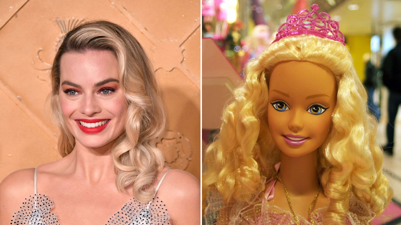 margot robbie to play barbie in doll u0026 39 s first live-action movie