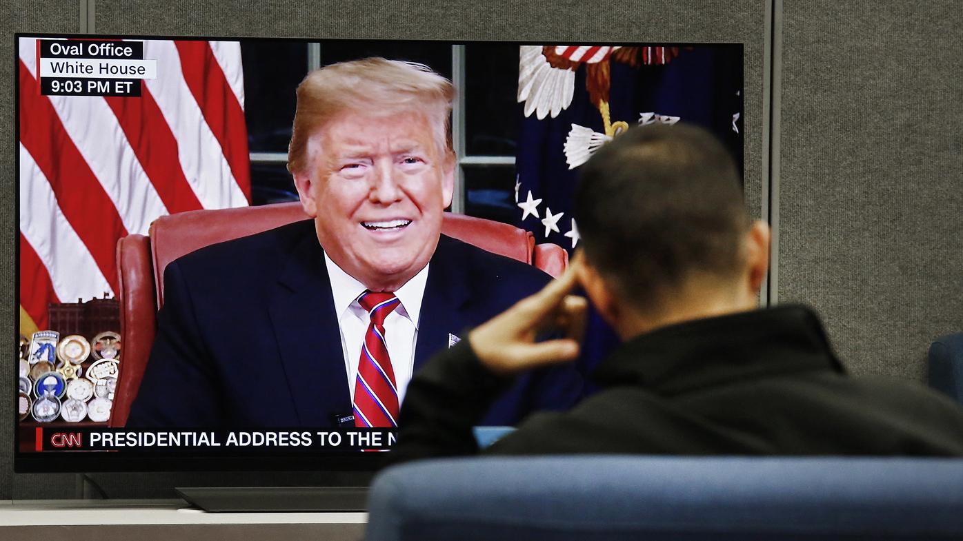 Trump today: Fact-checking border wall speech