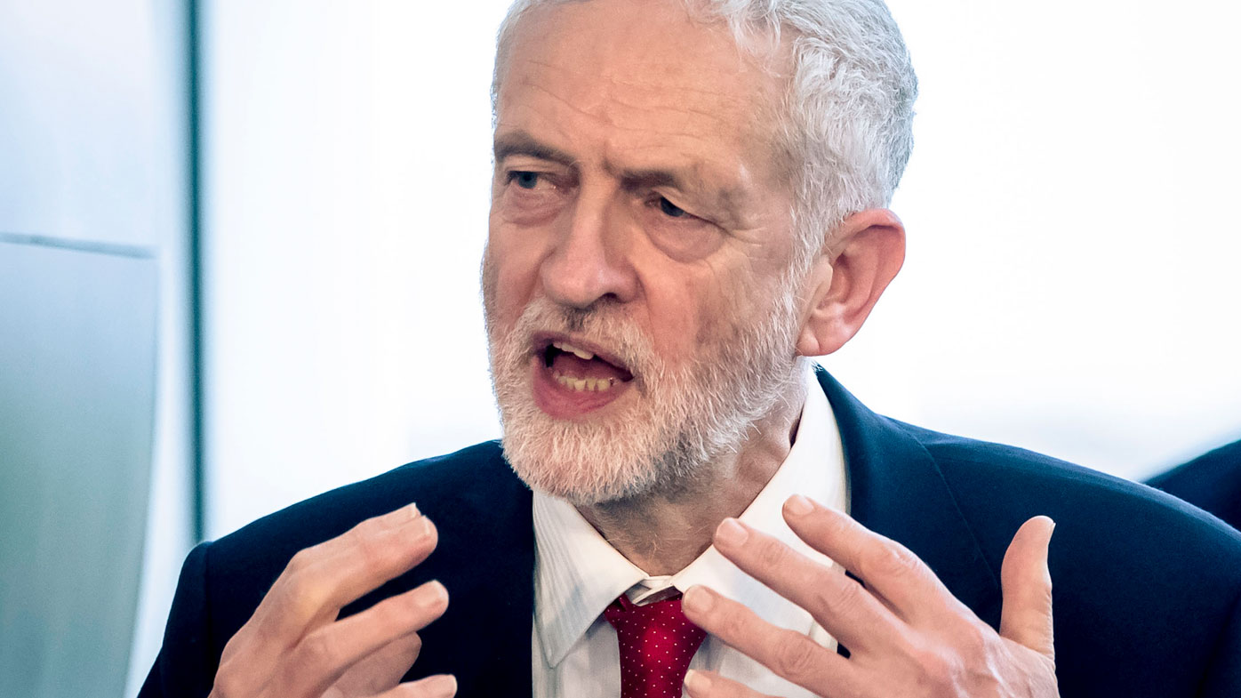 Corbyn calls for election if May's Brexit deal fails