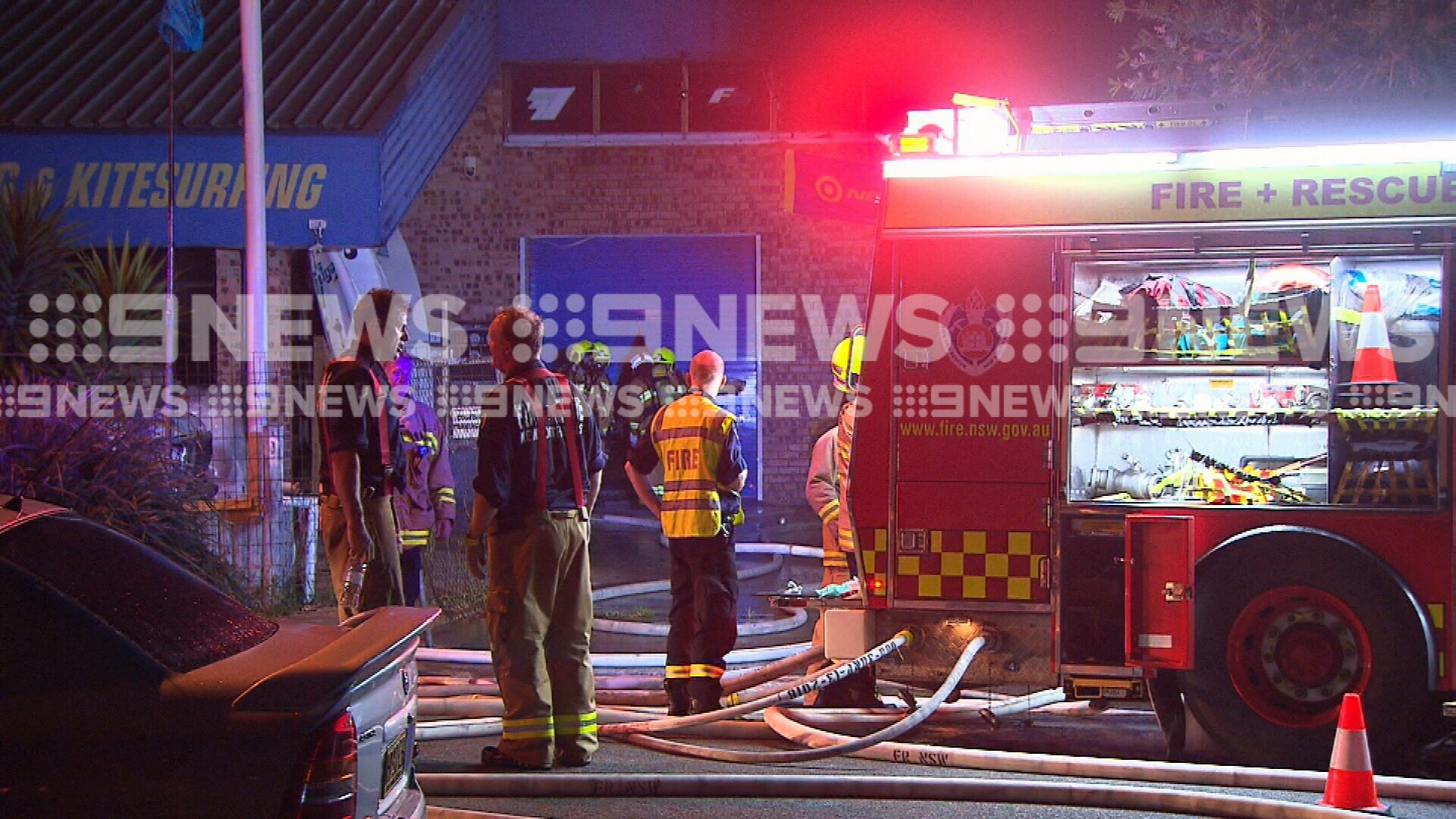 Collaroy factory fire destroys $250,000 worth of surfboards
