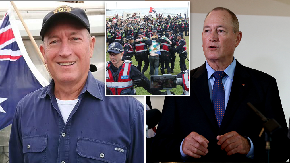 Fraser Anning registers own radical Conservative Nationals Party