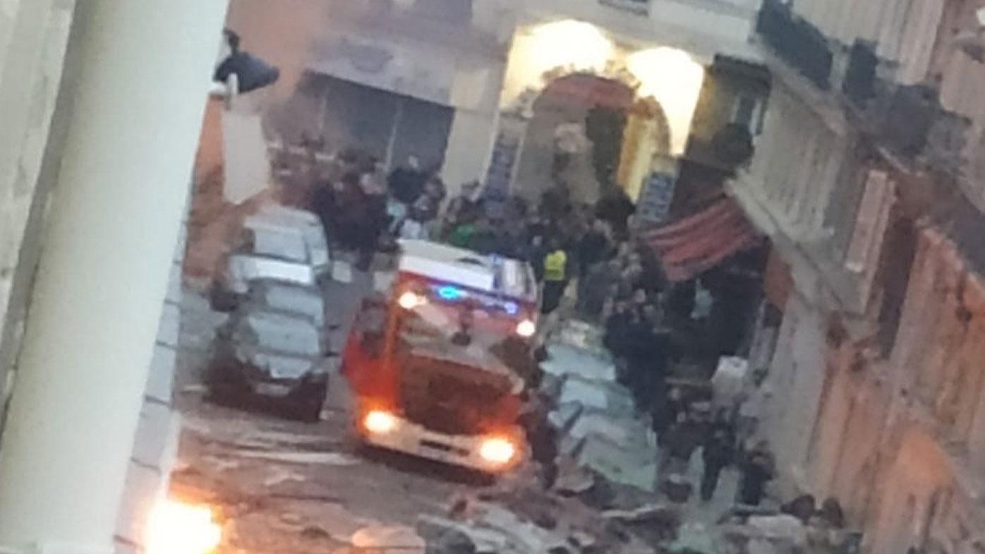 Paris explosion: Multiple injuries reported