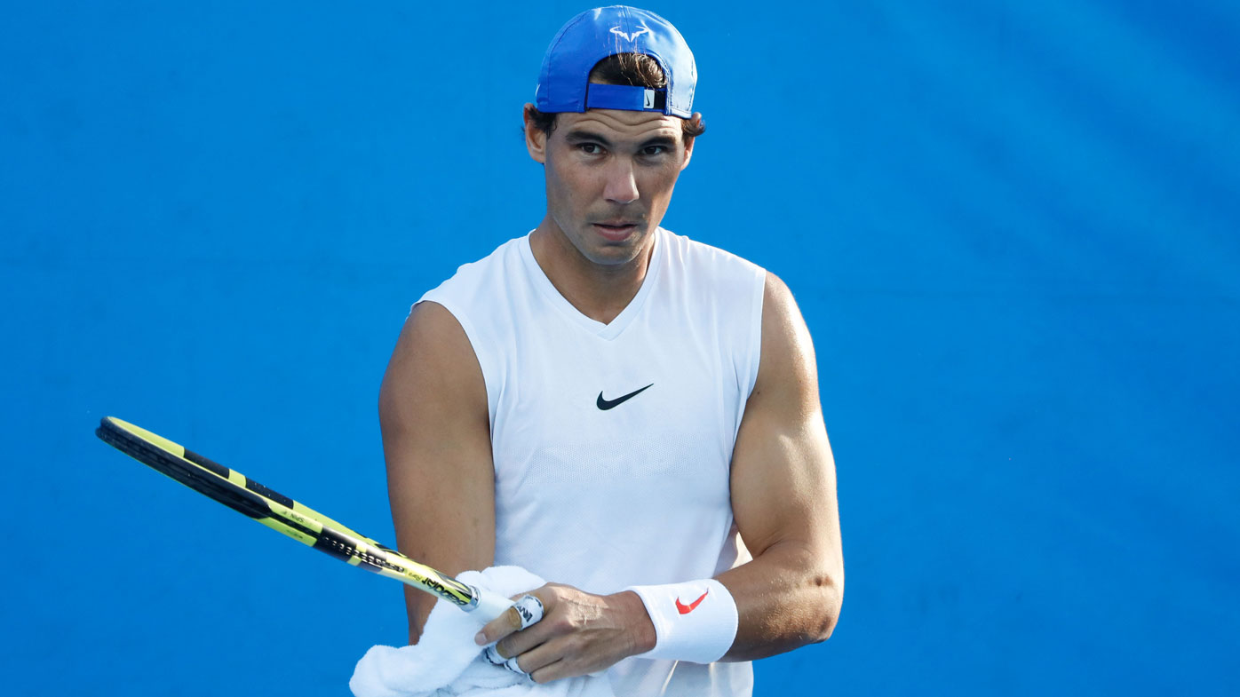 Nadal, Sharapova advance at Aussie Open