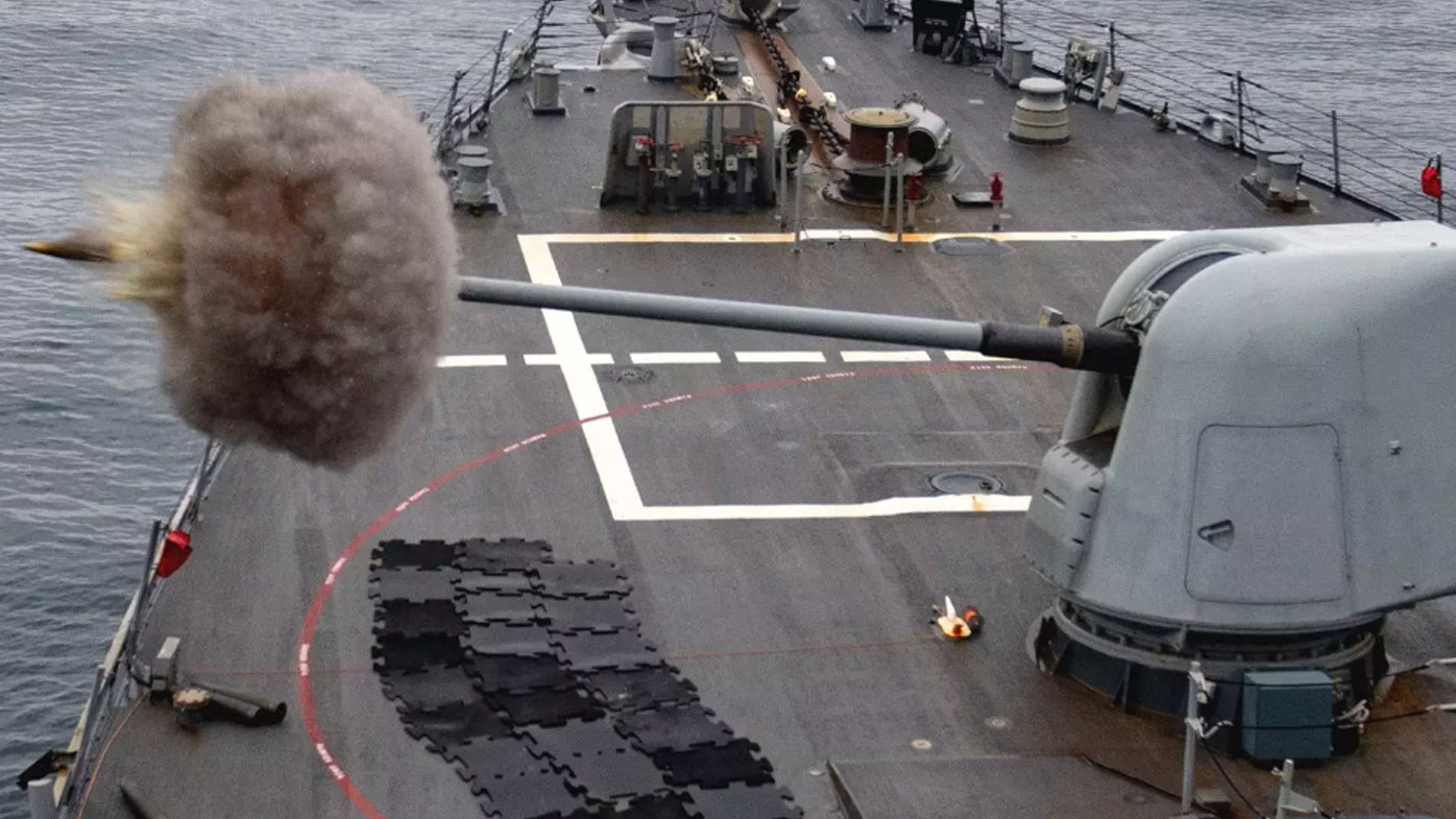 US secretly tested new naval weapon