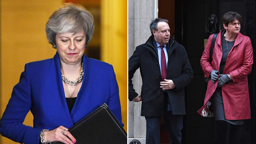 Theresa May battles to keep Brexit on track