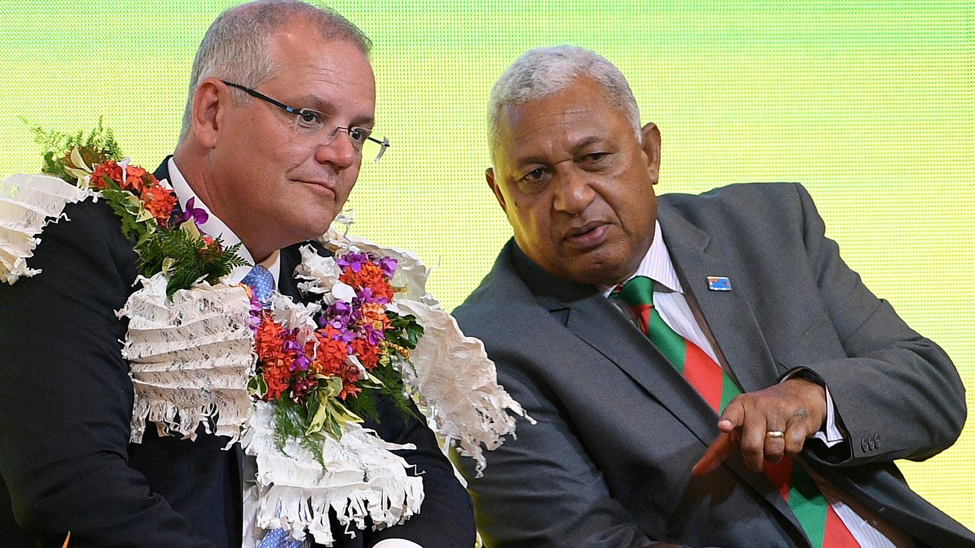 Fiji tells Australia to shift away from coal