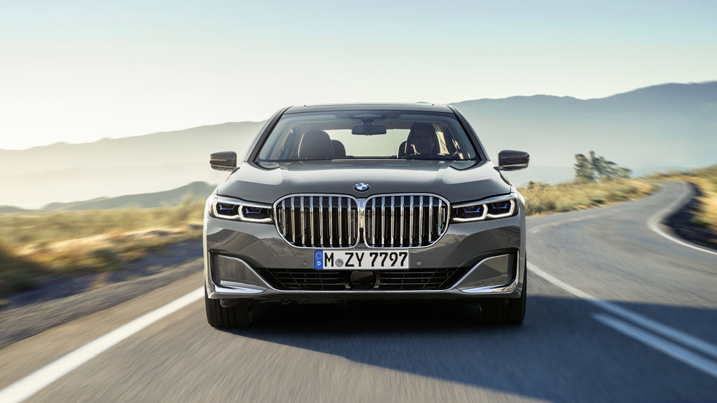 Bmw Unveils New 7 Series For 2019 And Check Out The Size Of The Grille