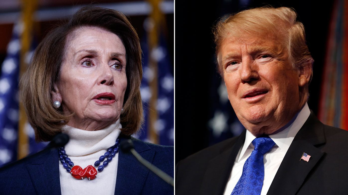 Trump escalates row with Pelosi by cancelling her overseas trip