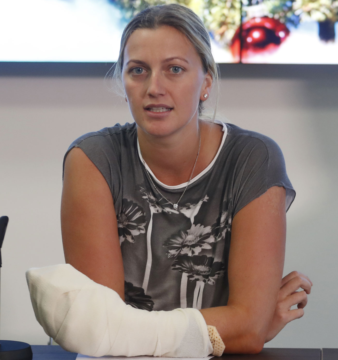Petra Kvitova's tears of joy after beating Ashleigh Barty