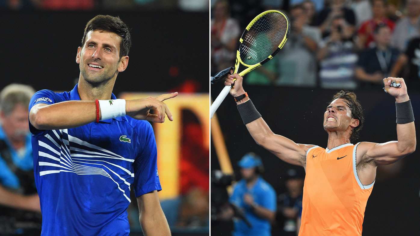 Greatest rivals Djokovic, Nadal square off