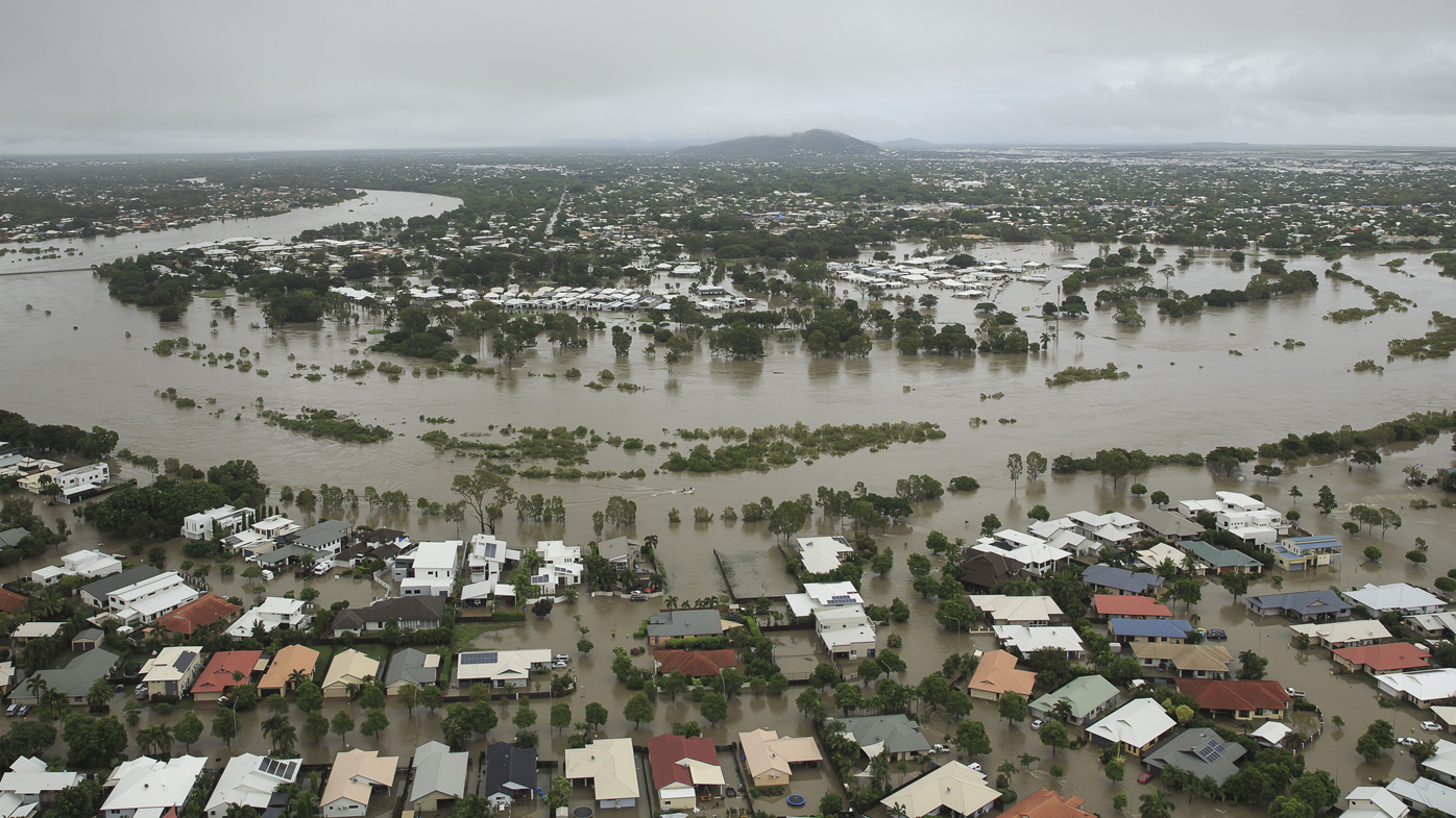 First person dies after catastrophic floods as bacteria infections grow