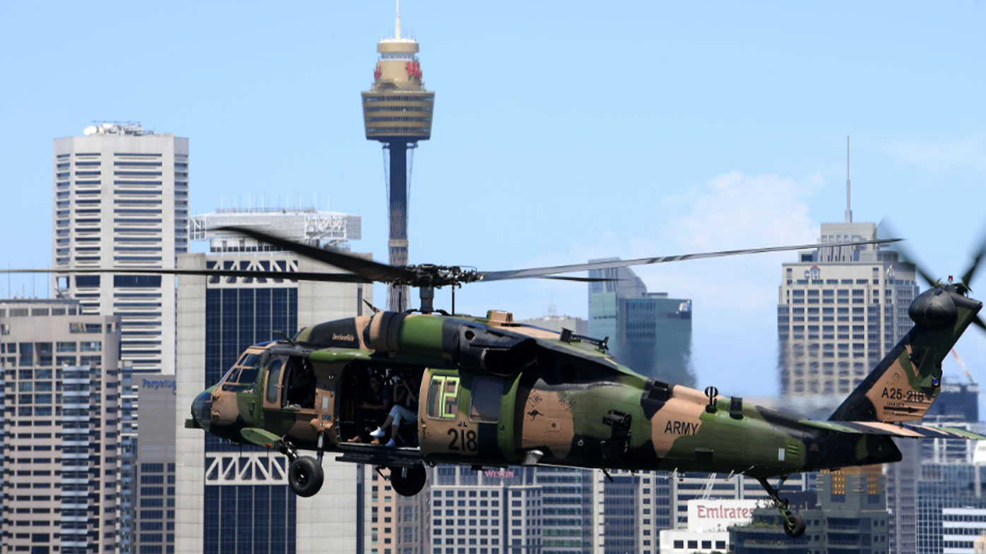 News NSW: Army urges residents to enjoy Black Hawk flying drills