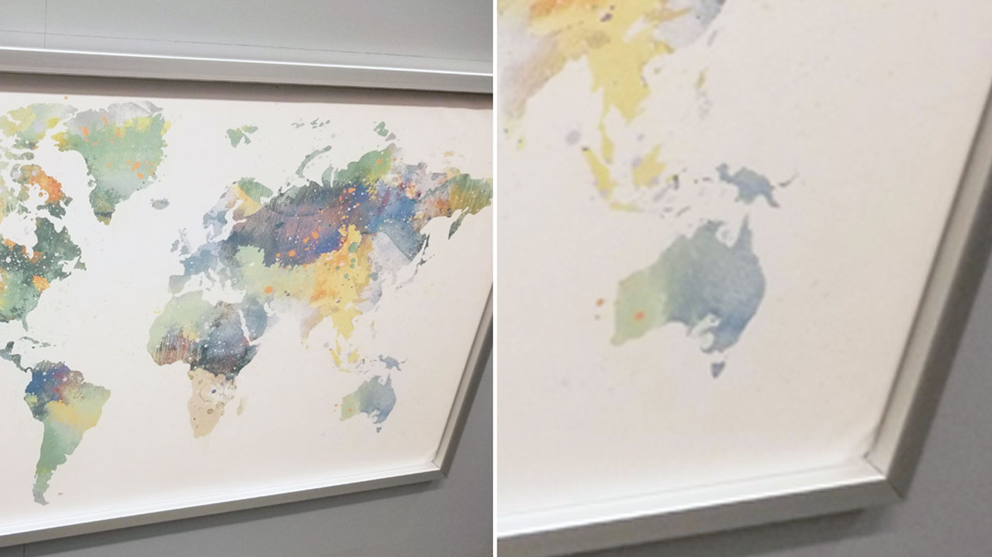 Word News: IKEA sells world map but forgets to include New Zealand