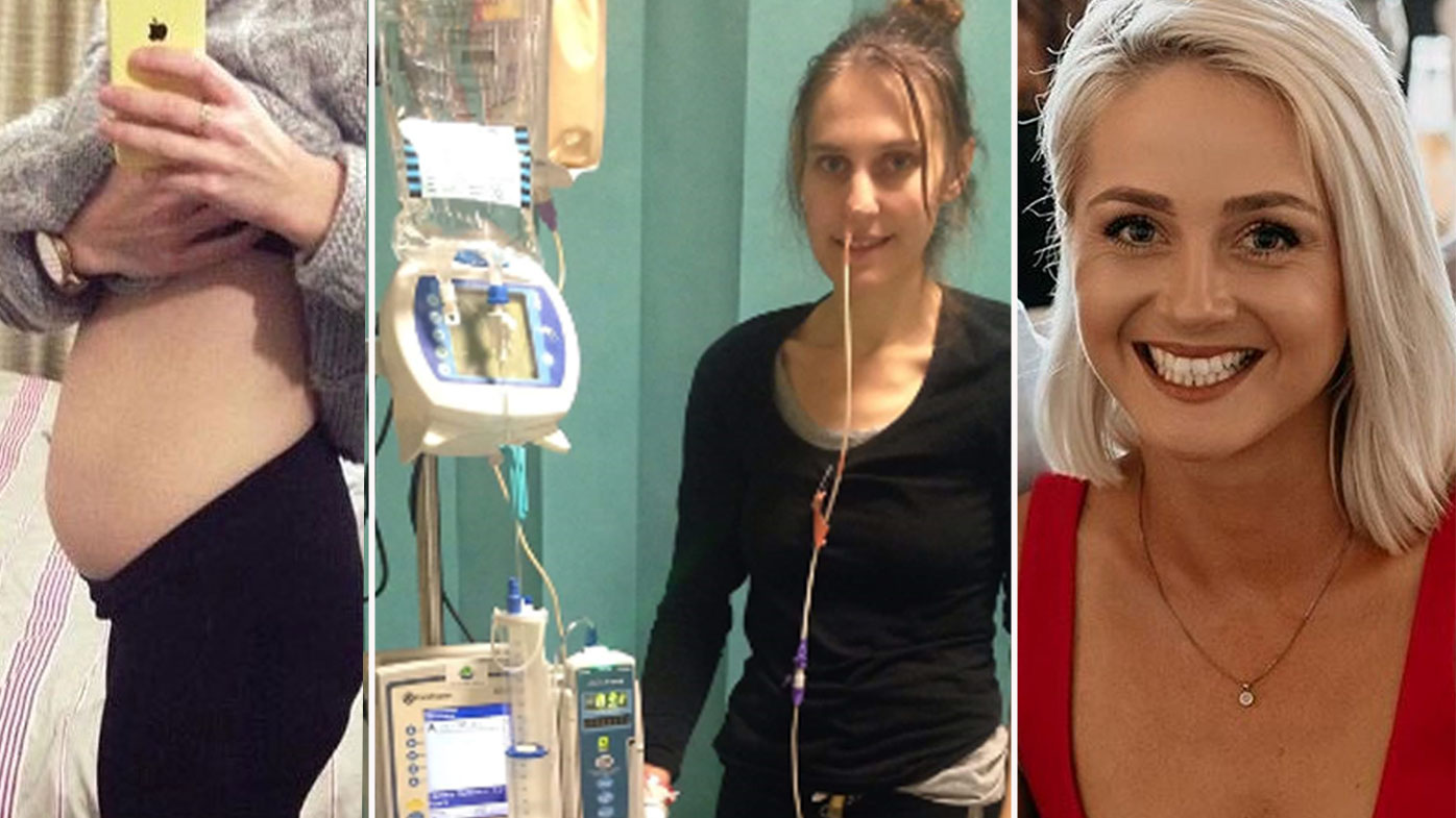 Gastroparesis has left Jacinda Turner, 34 unable to eat or drink at all, and now sufferers are pushing for more research finding