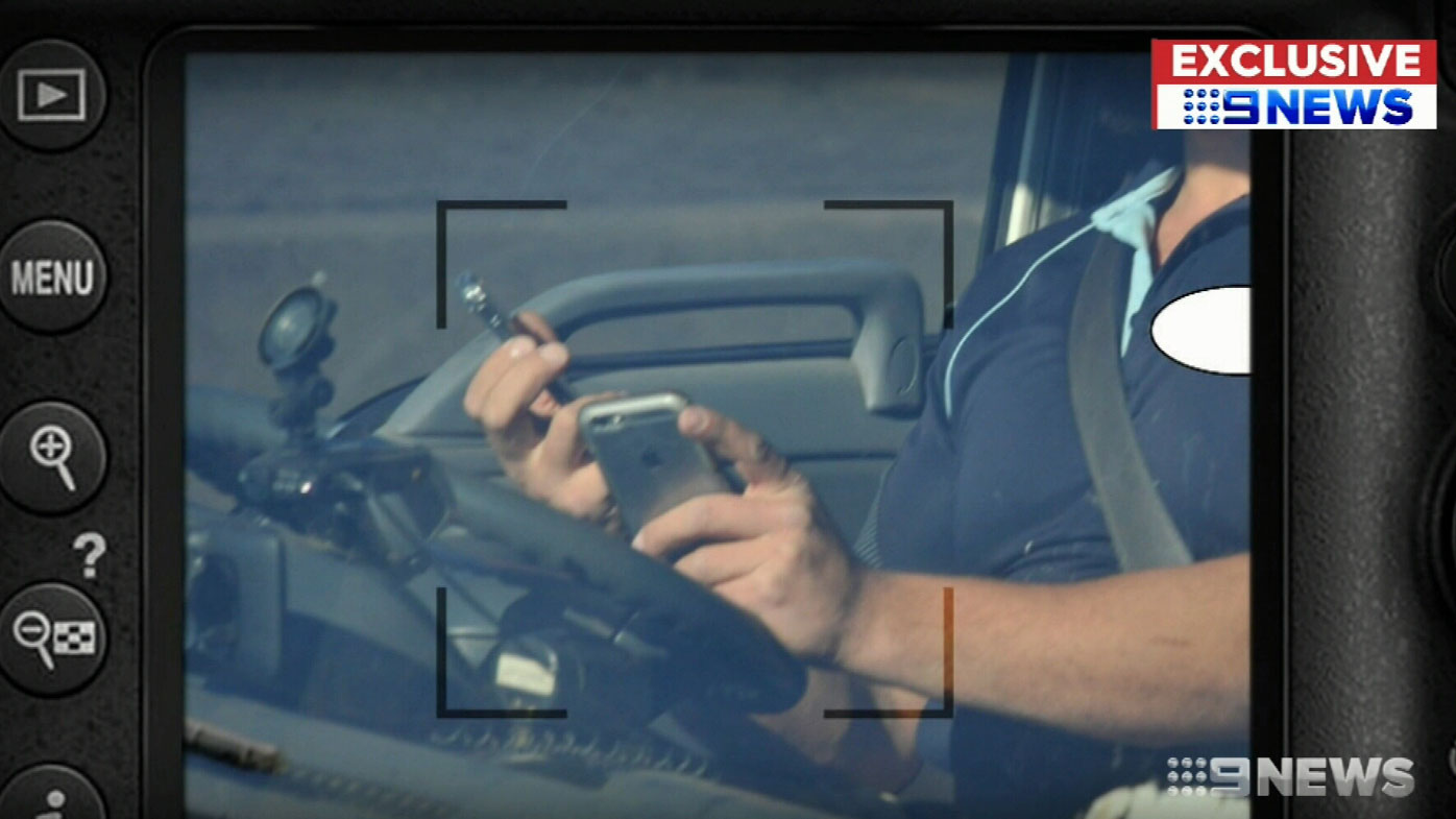 Motorist caught on two phones at the wheel by new cameras