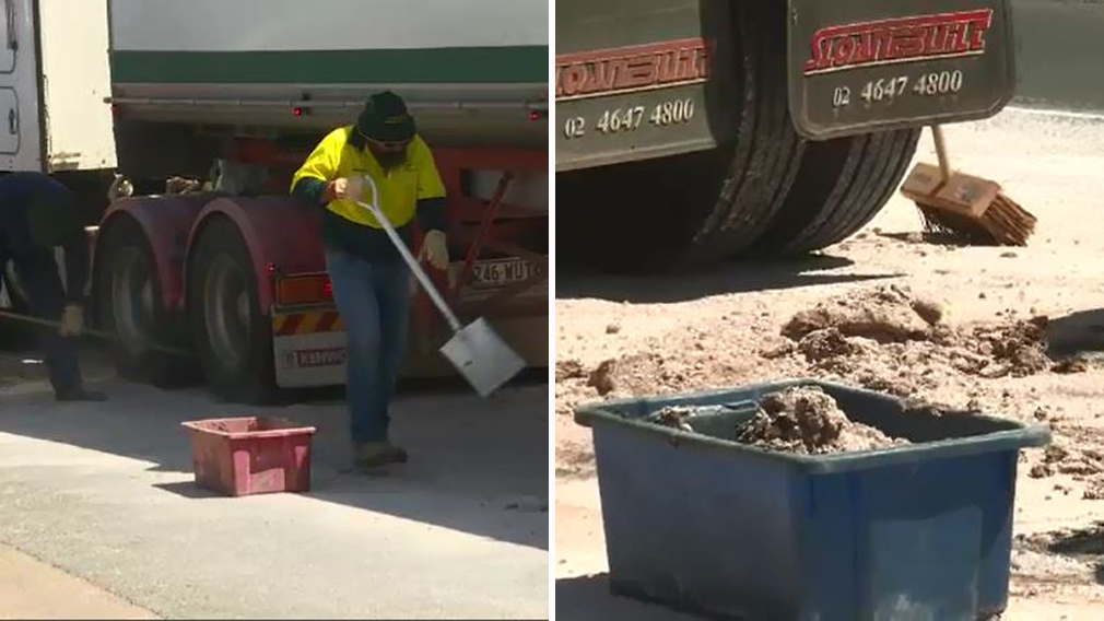 Manure truck causes major stink on highway
