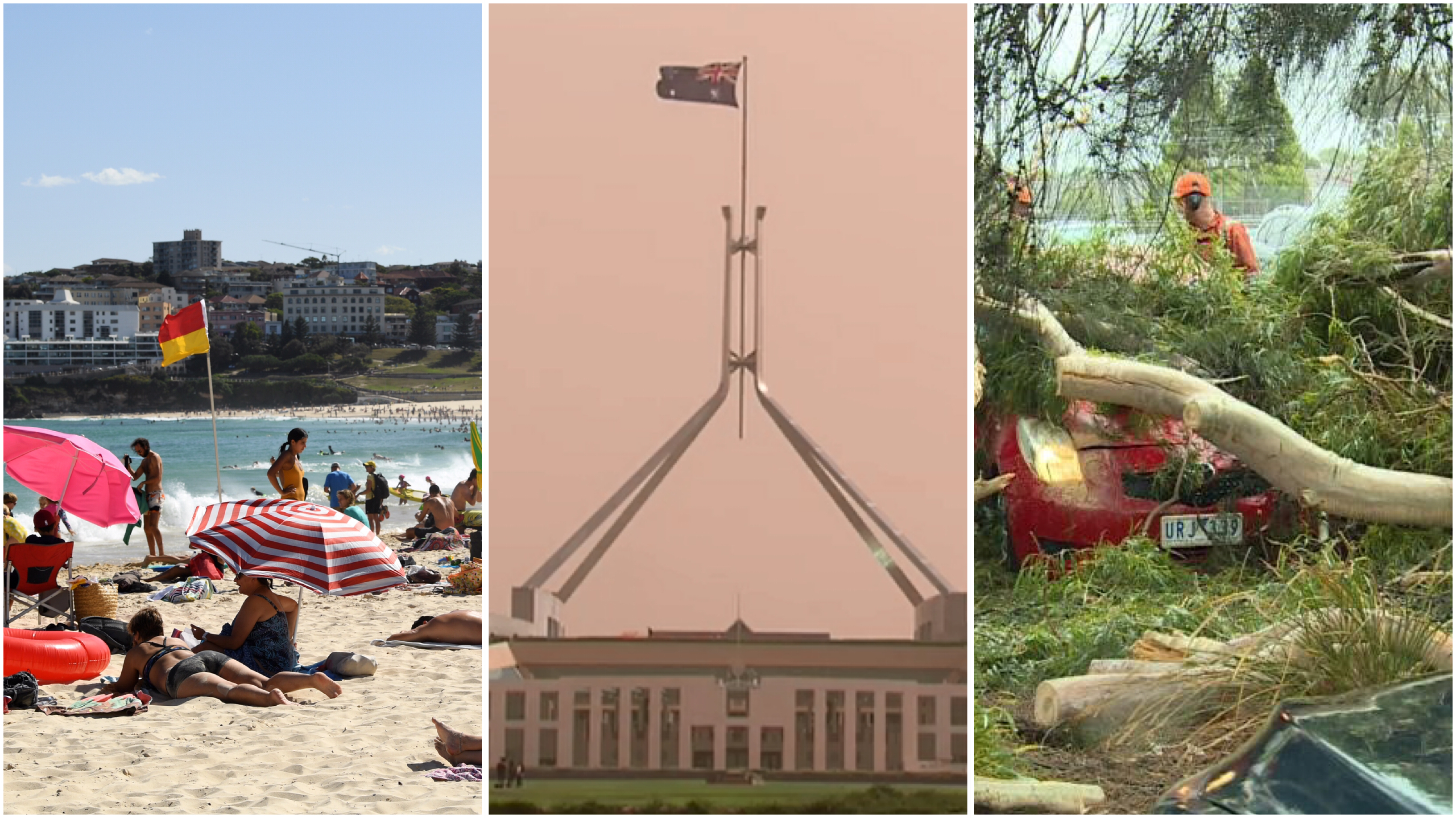 Weather extremes for much of Australia